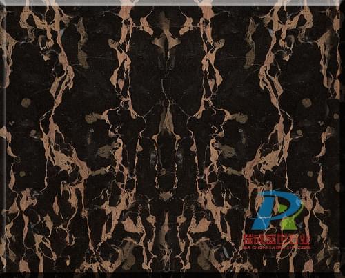 黑金花大理石颜色美观,花纹独特,有较高的抗压强度性能和良好的物理化