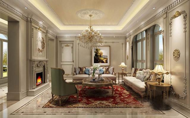 别墅大理石法式风格