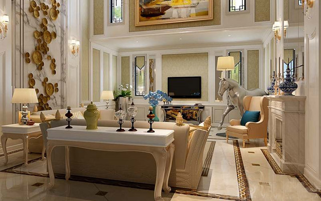 别墅大理石现代风格